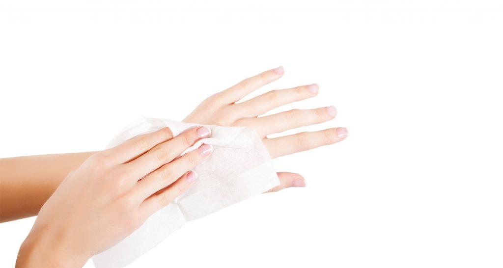 Medi9 hand wipes